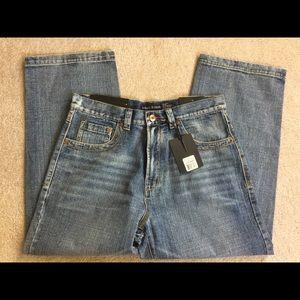 NWT Basic Code men's blue jeans 36 x 30